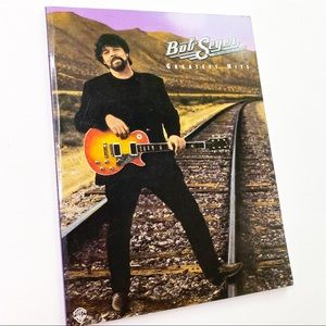 Vintage Bob Seger Sheet Music Bass Book Hits